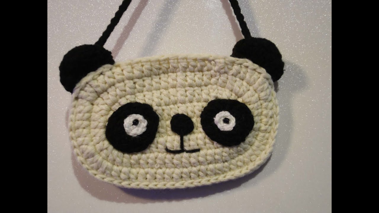 Crochet Bag Youtube : ... ??????? ????? Childrens Crochet Bag - YouTube