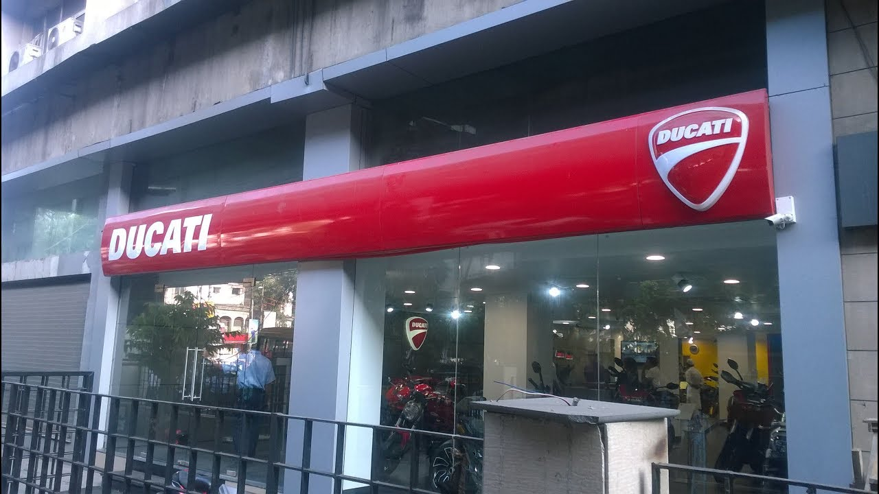 Ducati Kolkata Showroom Youtube