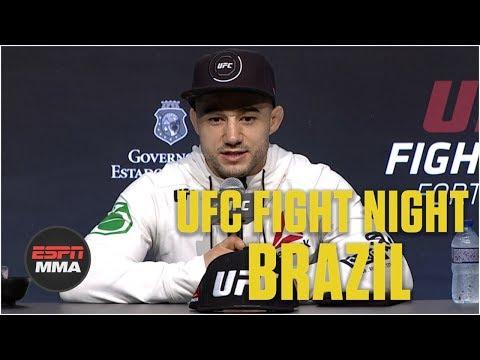 Marlon Moraes' Post-Fight Press Conference | UFC Fight Night: Brazil | ESPN MMA