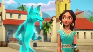 Елена - Принцесса Авалора - 09 - Уроки волшебства: Безбилетник  мультфильм Disney