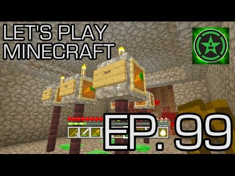 Let's Play Minecraft: Ep. 99 - Golden Hoe