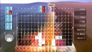 Lumines Supernova gameplay