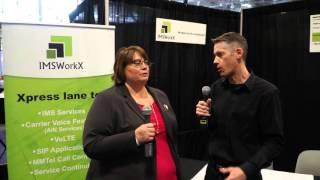 #MCS2016: Shannon Chevier of IMSWorkx announces partnership with Iristel
