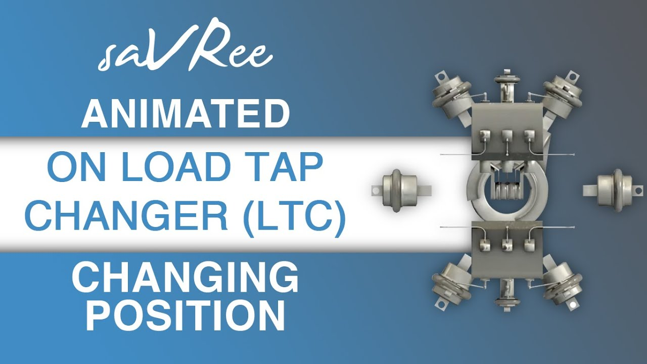 Animated On Load Tap Changer (LTC) Changing Position - YouTube on
