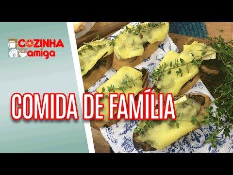Bruschetta de brie e filé com risoto de figos - Carla Pernambuco | Cozinha Amiga (13/07/18)