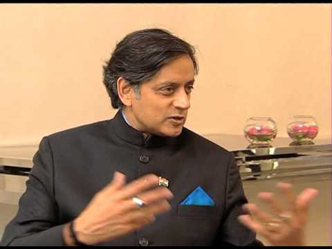 Indian Minster Shashi Tharoor talks about George Orwell's totalitarian predictions