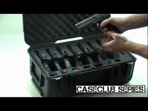 7 Pistol Case Multi Handgun Case By Case Club Youtube