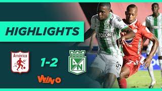 América vs Nacional (Goles y Highlights) Liga BetPlay Dimayor 2020   Cuartos de Final Ida