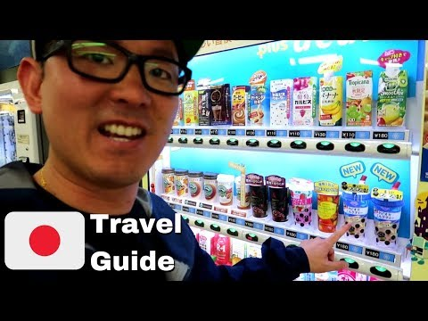Vending Machines in Japan, have Bubble Tea?! | Japan Travel Guide