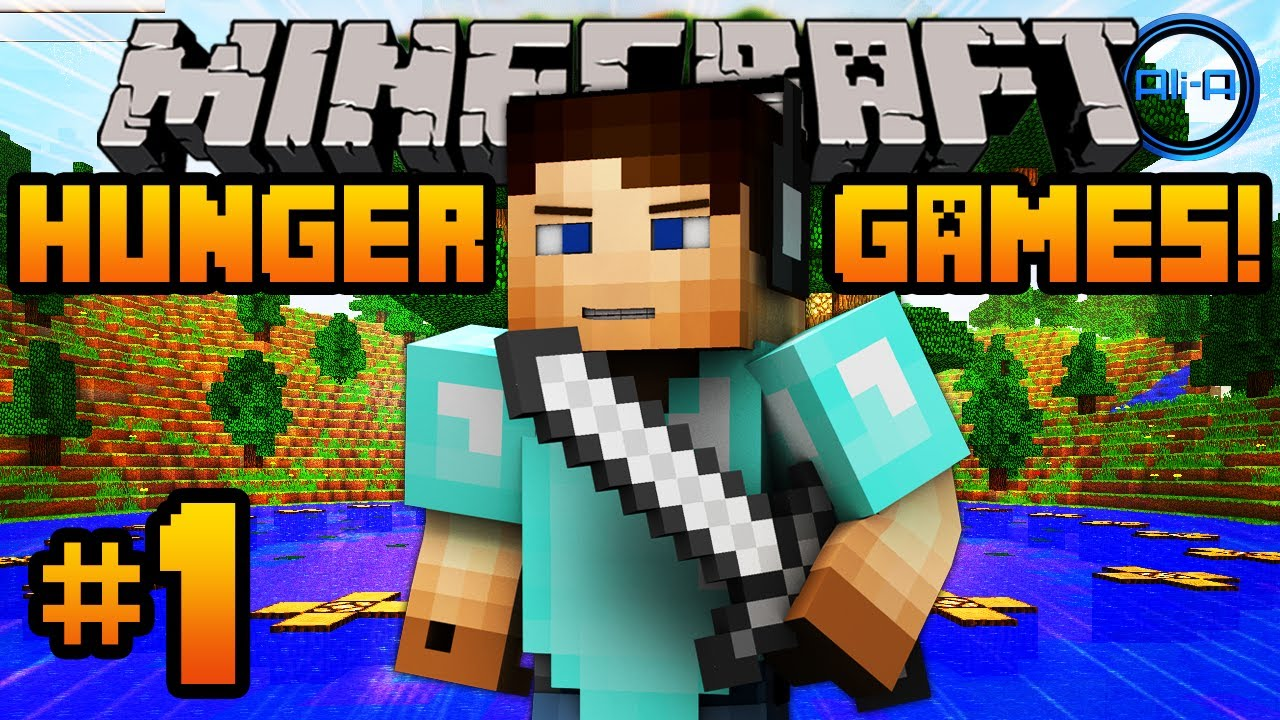 Minecraft hunger games w ali a 1 fishing for kills for Mine craft hunger games