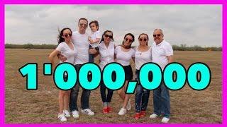 1 millón de suscripciones | 1 millón de gracias!