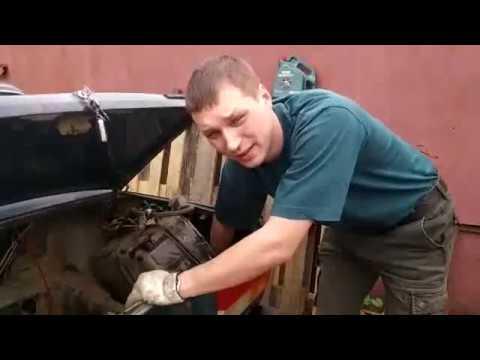 Как снять задний бампер ваз 2107