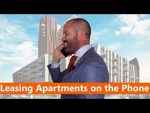 The Secret to Leasing Apartments on the Phone