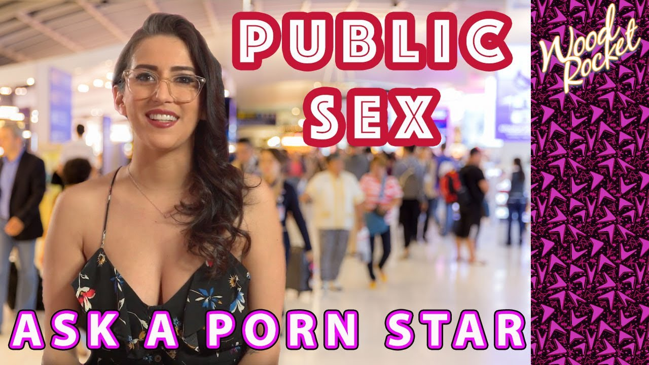 Pornstar sex in the public