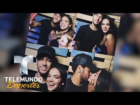 ¡Neymar se fue de fiesta y regresó con su novia por cuarta vez!   Deporte Rosa   Telemundo Deportes