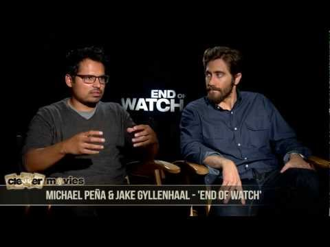 Jake Gyllenhaal & Michael Peña Talk Brotherhood In 'End of Watch'