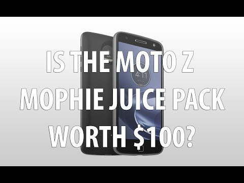 Motorola Moto Z Mophie Juice Pack Review After 1 month of ownership. Is it worth $100?