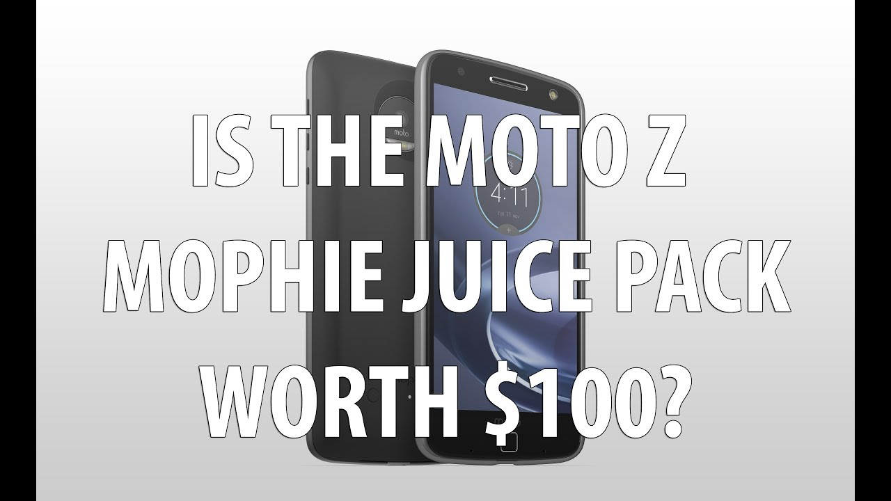 pretty nice d9e57 341bf Motorola Moto Z Mophie Juice Pack Review After 1 month of ownership. Is it  worth $100?