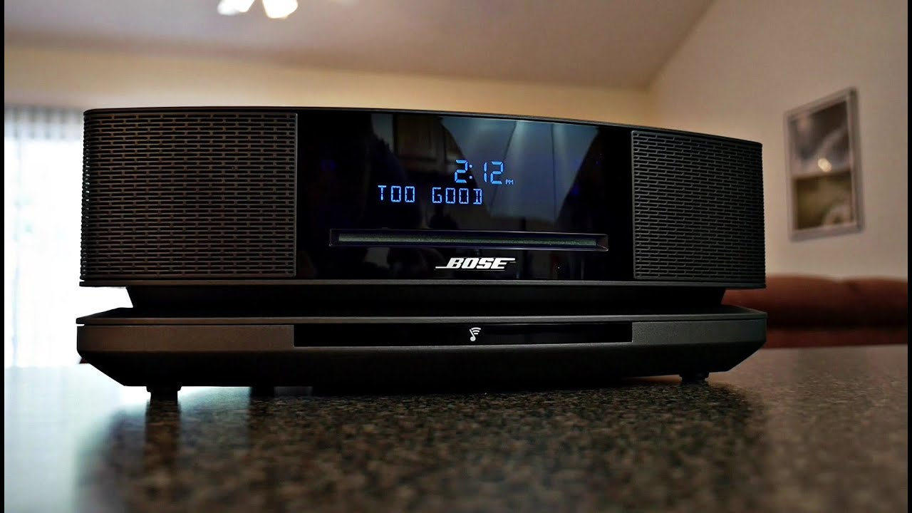 bose wave soundtouch music system iv review youtube. Black Bedroom Furniture Sets. Home Design Ideas