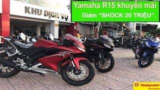 """Tin nhanh 24/7 - Lần đầu tiên kể từ khi lên kệ…Yamaha R15 khuyến mãi giảm """"SHOCK 20 TRIỆU""""."""