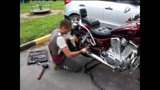 видео Выездной шиномонтаж мотоциклов