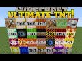 Minecraft: ULTIMATE TNT! (WORLD ENDING EXPLOSIVES, CHUNK DESTROYERS, & MORE!) Mod Showcase