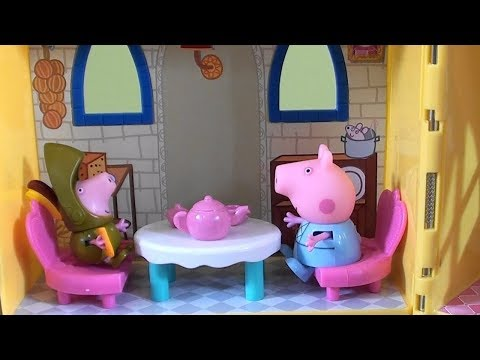 Peppa Pig: Princess Peppa Pig Adventure Story with Hatchimals, Trolls and Peppa Pig Royal Family