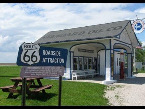 045  Route 66:  Elwood to Towanda, IL.
