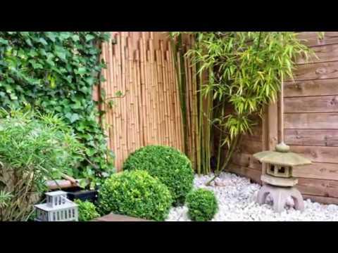 japanese bamboo garden design Asian Bamboo Garden Design Idea - YouTube