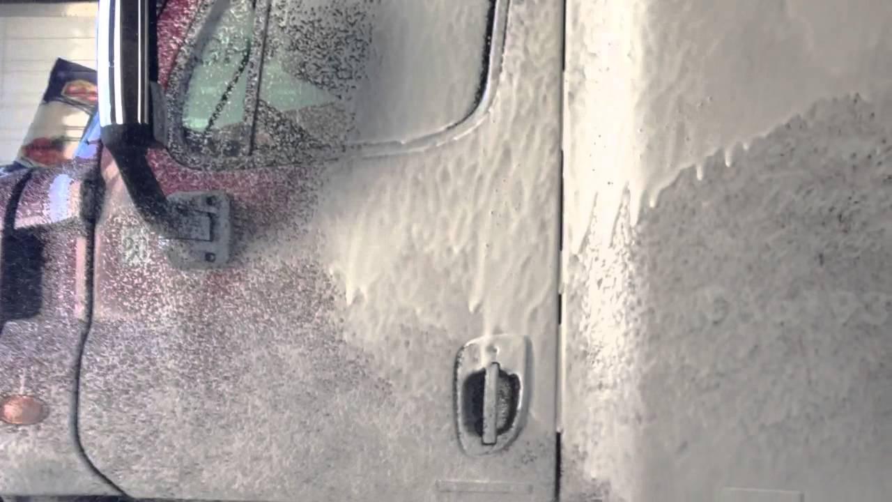 Foaming Truck Wash Soap Youtube