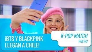 KNews: ¿BTS y BLACKPINK llegan a Chile? | Capítulo 1 | K-Pop Match