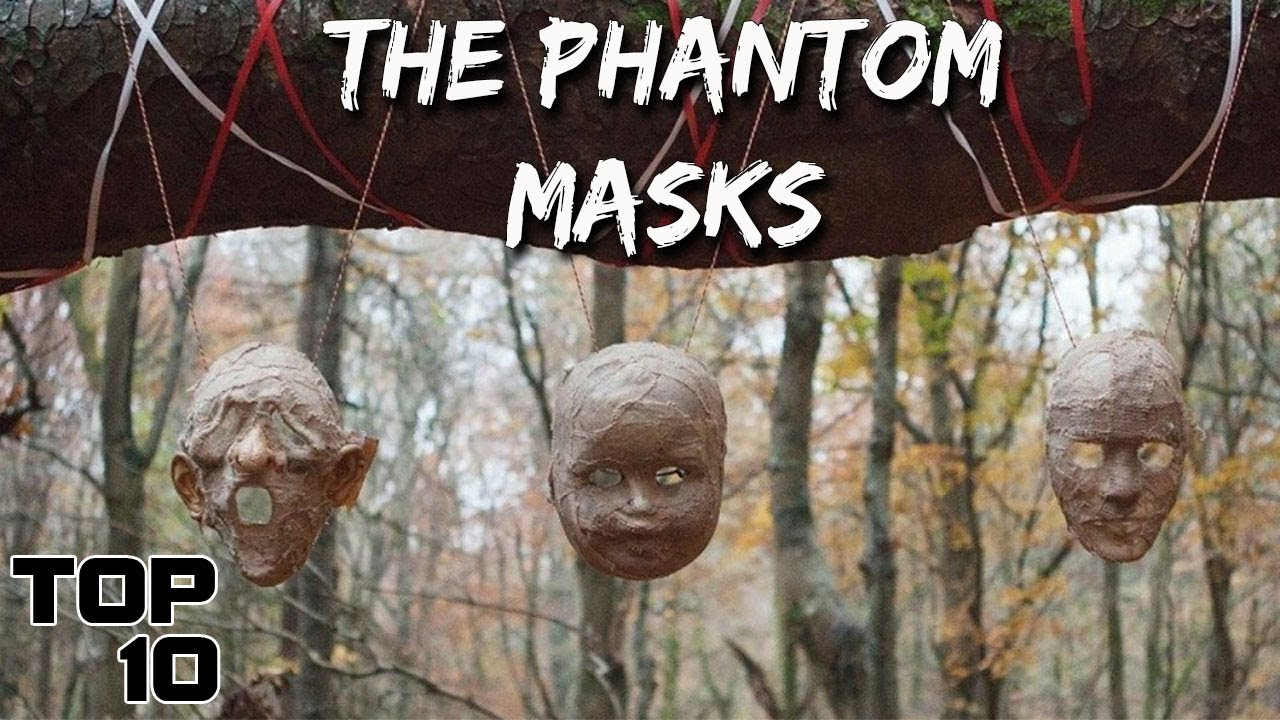 Top 10 Scary Masks You Should NEVER Remove