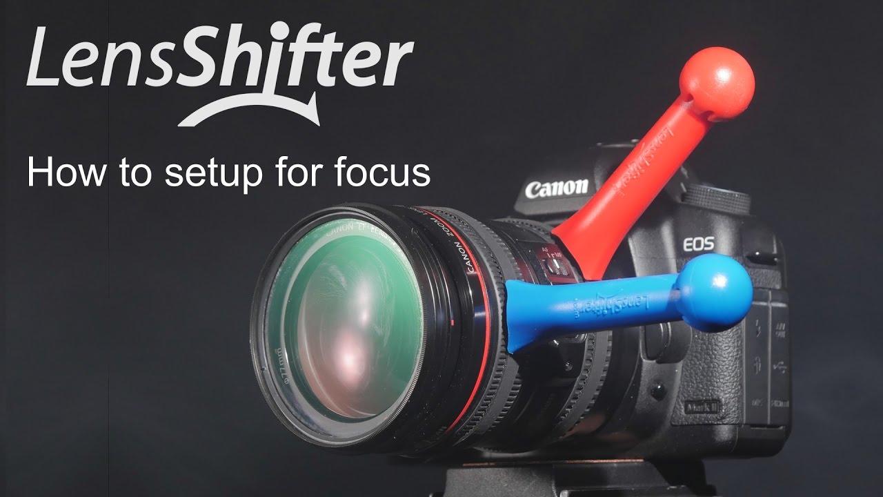 setting up lensshifter on the focus ring for precise manual focusing rh youtube com Novo Focus Manual bridge camera with manual focus ring