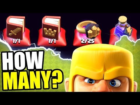 HOW MANY MAGIC ITEMS CAN WE SPEND!? - Clash Of Clans