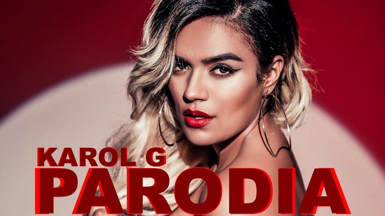 Karol G no puede parar de decir malas palabras en entrevista (Parodia)