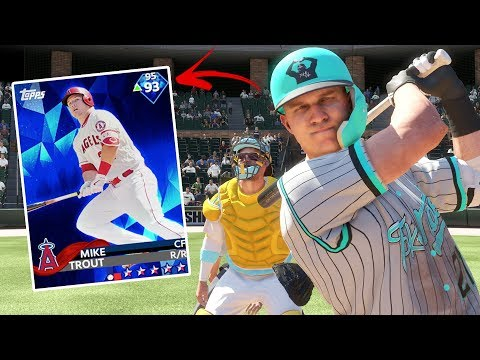 MIKE TROUT CALLS HIS SHOT IN EXTRA INNINGS | MLB THE SHOW 18 DIAMOND DYNASTY GAMEPLAY