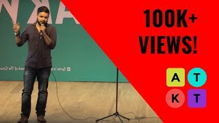 What Lazy People Do | Standup Comedy by Anmol Shukla at IIT-D