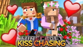 KISS CHASING w/ LITTLE KELLY!!! - Minecraft - Little Donny Adventures.