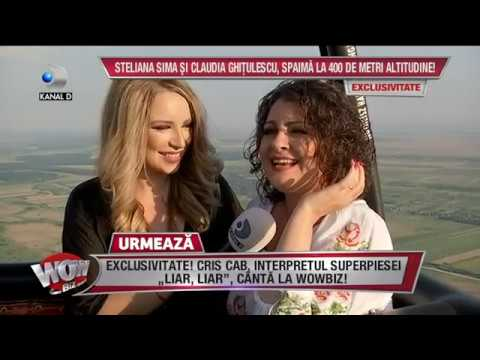 WOWBIZ (25.07.2017) - Steliana Sima si Claudia Ghitulescu, spaima la 400 m altitudine!