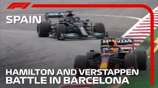 How Hamilton Beat Verstappen In A Brilliant Battle In Barcelona | 2021 Spanish Grand Prix
