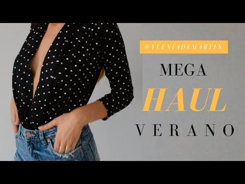 MEGA HAUL VERANO 2018 🛍👗 (Zara,Pull&Bear,Bershka...) | @yleniademartin
