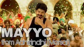Adhirindhi Songs   Maayo   Vijay   Samantha   Kajal   mersal telugu songs