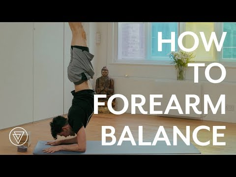 How To Forearm Balance | Adam Husler