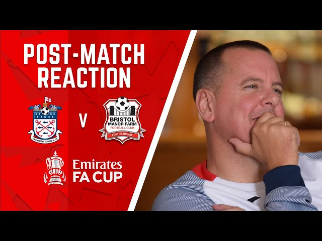 POST-MATCH REQCTION: Lashenko speaks after Farm get knocked out the FA Cup