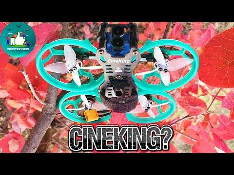 Фото ✔ FPV Квадрокоптер GEPRC CineKing 4K 95mm 3-4S 2 Inch Caddx Tarsier!