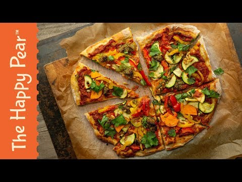 EASY VEGAN PIZZA FROM SCRATCH | The Happy Pear