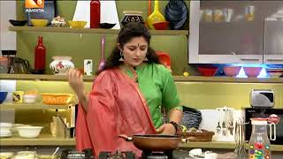 "Annies Kitchen With Malayalam Serial Actress "" Lakshmi Priya "" 