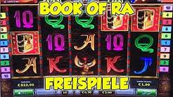Book of Ra FREISPIELE 1€ & 2€ - Novoline Online Spielothek HD