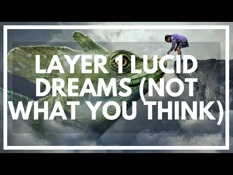 LAYER 1 Lucid Dreaming: Levels Of Lucidity Explained + A Cool Hat+