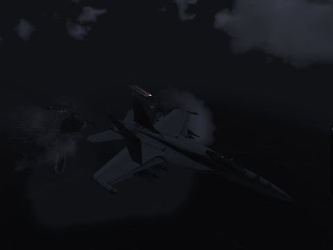 F/A18E Combat Air Patrol (Early Demo)